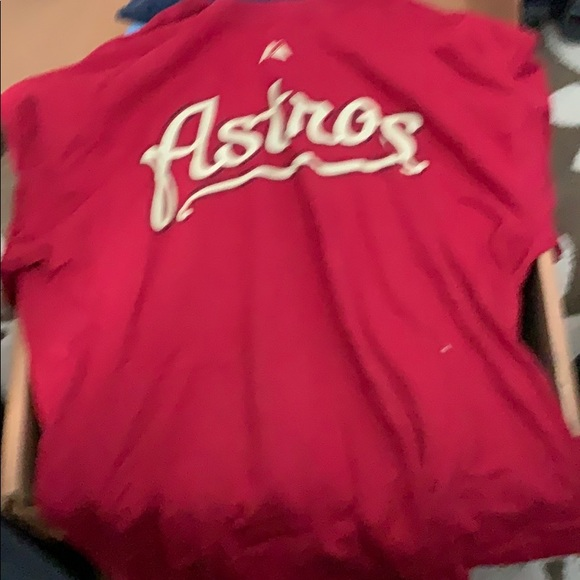 online retailer 586a7 dc8a3 Houston Astros shirt large